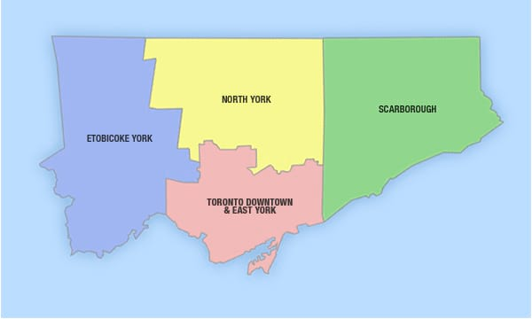 Toronto - City Wards